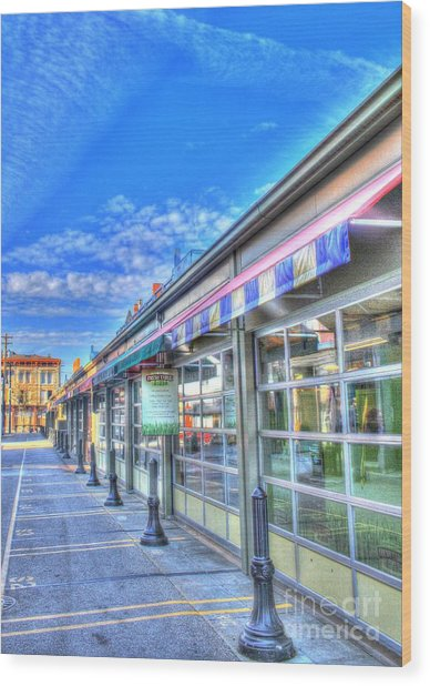 Findlay Market 3 Wood Print