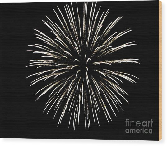Firework 2 Wood Print