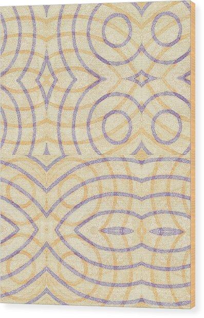 Firmamentals 0-7 Wood Print by William Burns