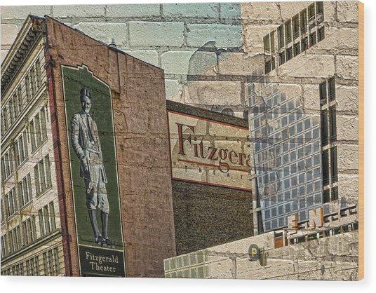 Fitzgerald Theater St. Paul Minnesota Wood Print
