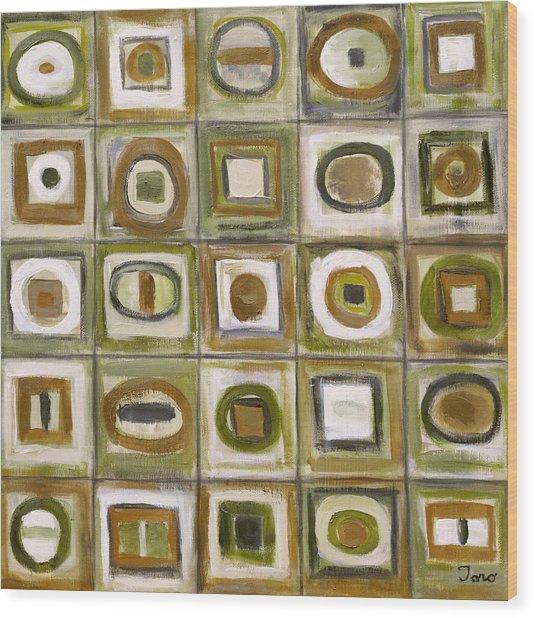 Fixation 3 Wood Print