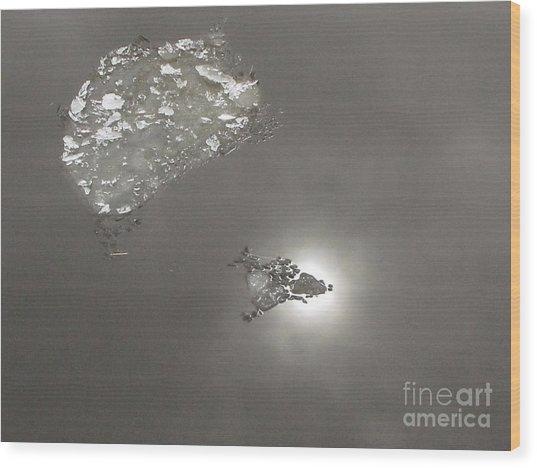 Flash Wood Print by Yury Bashkin
