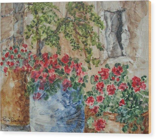 Fleurs De France Wood Print