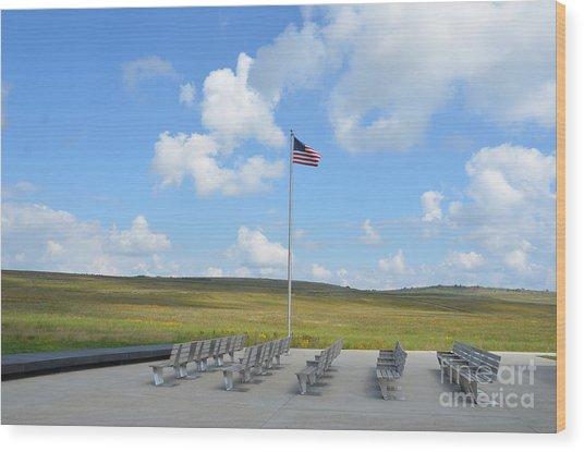 Flight 93 Memorial Wood Print