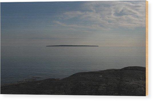 Floating Island Wood Print by Waldemar Okon