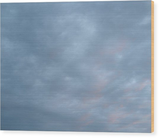 Florida Sky II Wood Print by Suzanne Fenster