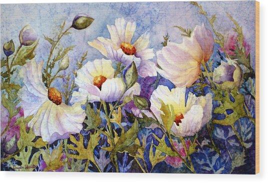 Flower Fantasy Wood Print by Daydre Hamilton