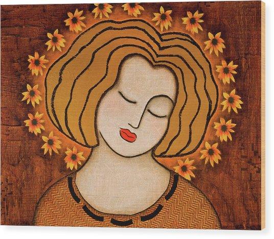 Flowering Intuition Wood Print