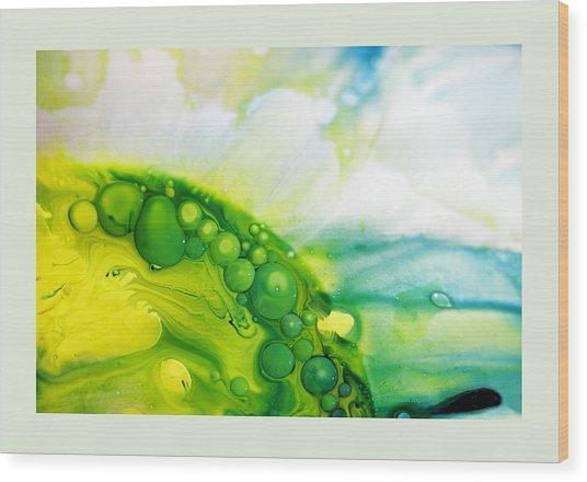 Fluidism Aspect 35 Frame Wood Print