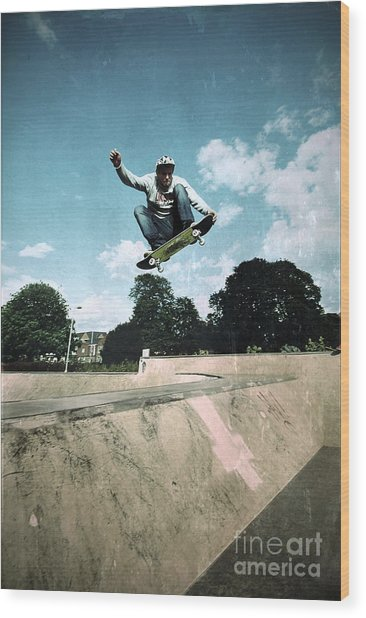 Fly High Wood Print