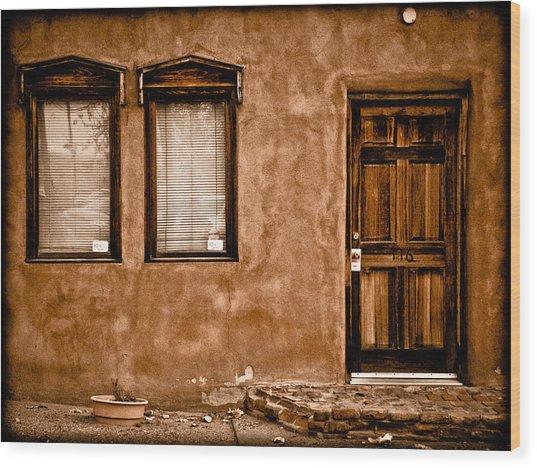 Albuquerque, New Mexico - Flyer Wood Print