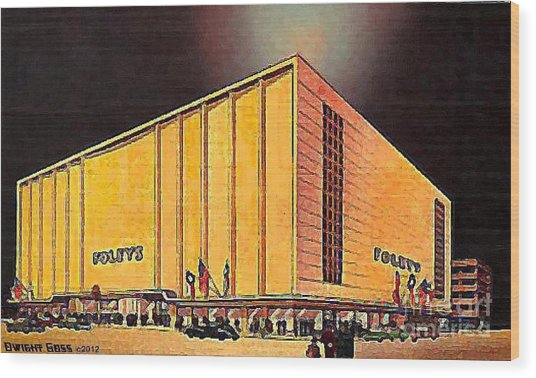 Foley S Department Store In Houston Tx In 1950 Painting By