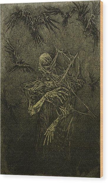 Forgotten Wood Print by Maciej Kamuda