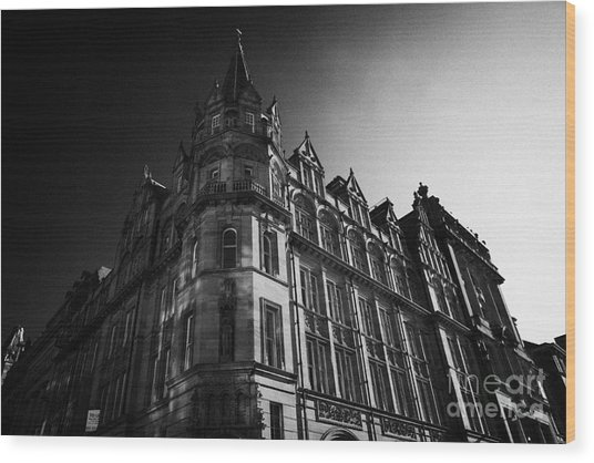 Former Prudential Assurance Building St Andrew Square Edinburgh Scotland Uk United Kingdom Wood Print by Joe Fox