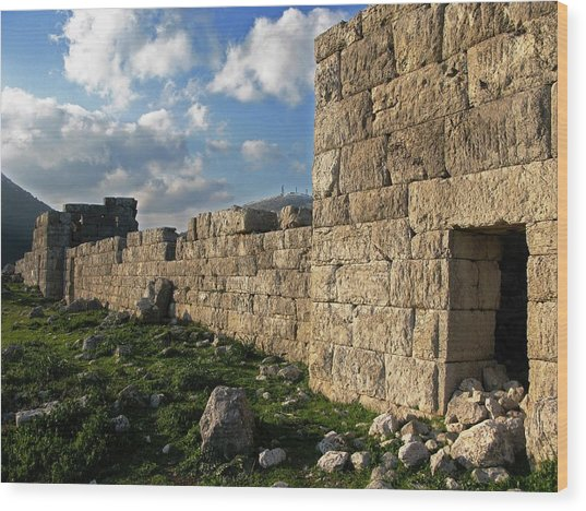 Fortified Citadel Wood Print by Andonis Katanos