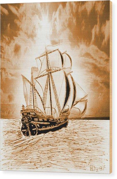 Forward-2 Wood Print by Yury Bashkin