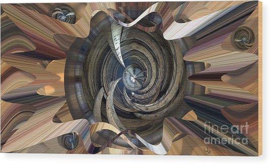 Frame Ceiling Wood Print