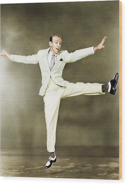 Fred Astaire, Ca. 1930s Wood Print by Everett