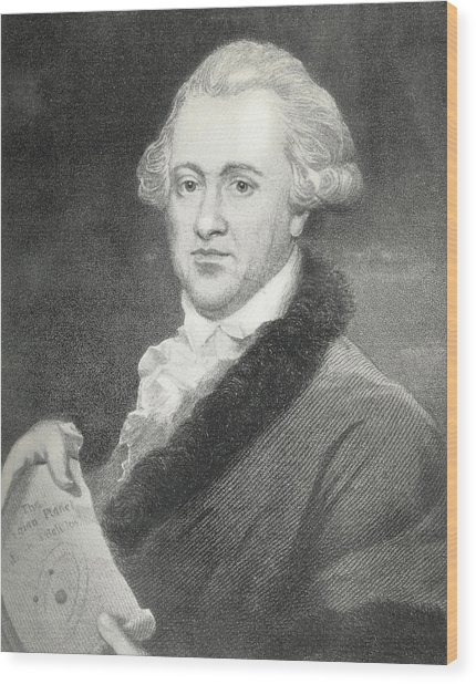 Frederick William Herschel, Astronomer Wood Print by Science, Industry & Business Librarynew York Public Library