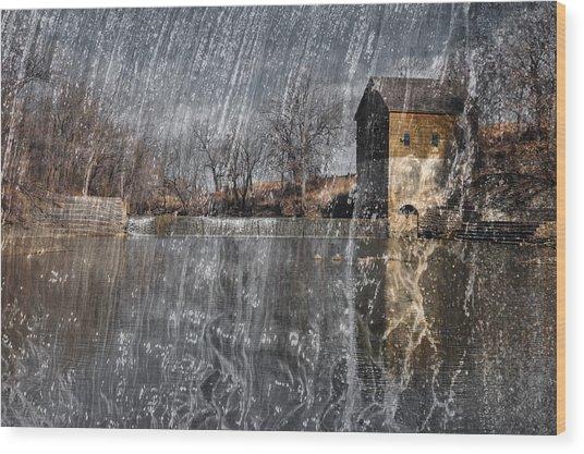 Fredonia Mill Wood Print