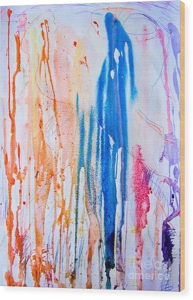 Freeze Wood Print by Bill Davis