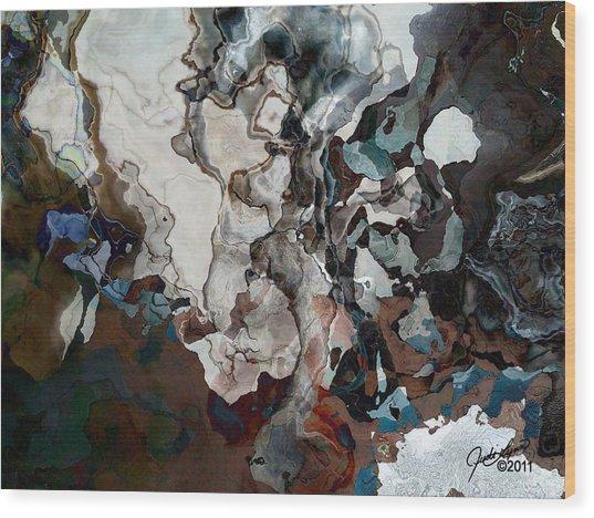 From The Ocean Floor Wood Print