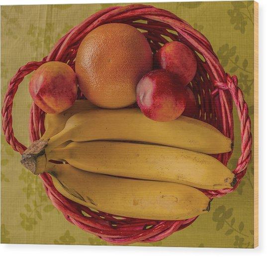 Fruits Wood Print by John Nasir
