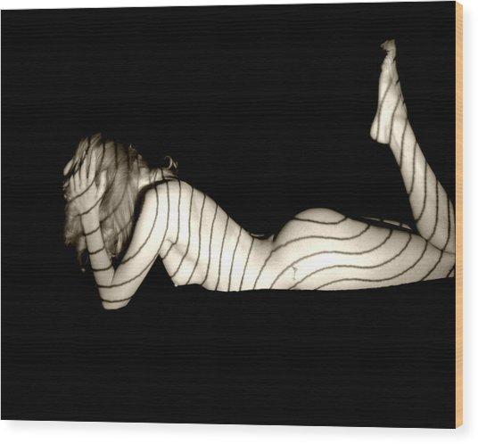 Frustration Wood Print