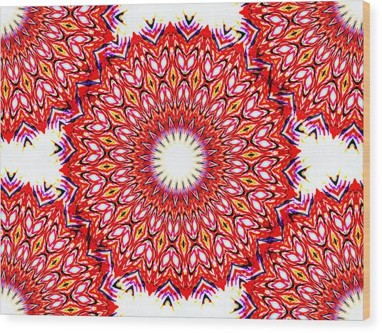 Ganika No.1 Wood Print by Danny Lally