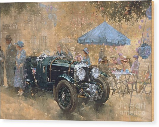 Garden Party With The Bentley Wood Print