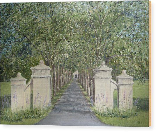 Gateway To Fonthill Wood Print