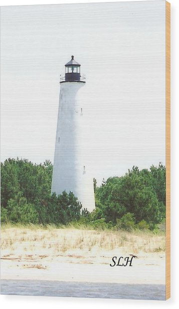 George Town Lighthouse Wood Print