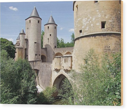 Germans Gate Metz France Wood Print