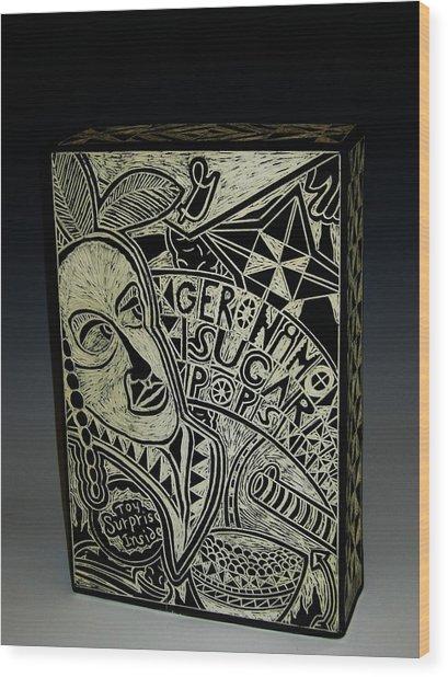 Geronimo Sugar Pops Wood Print by Ken McCollum