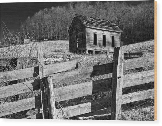 Ghosts 6  Wood Print by Daniel Stober