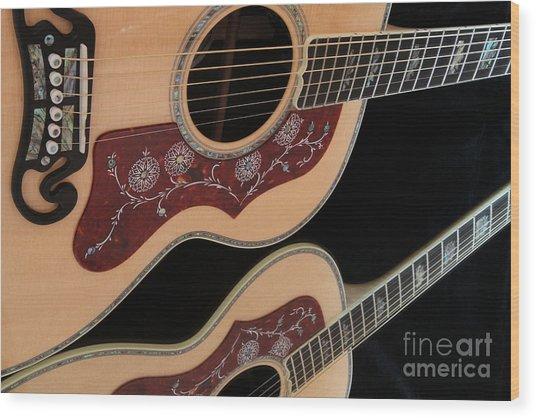 Gibson Sj200 Wood Print