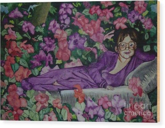 Ginny's Girl Wood Print