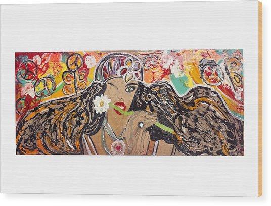Gipsy Wood Print