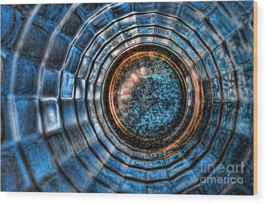 Glass Series 3 - The Time Tunnel Wood Print