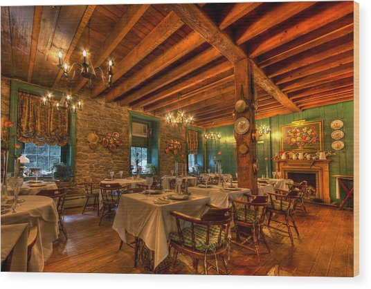 Golden Pheasant Inn Wood Print