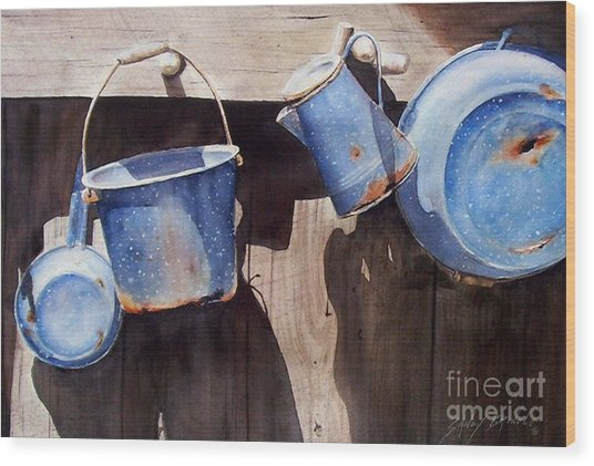 Gone To Pot...sold  Wood Print