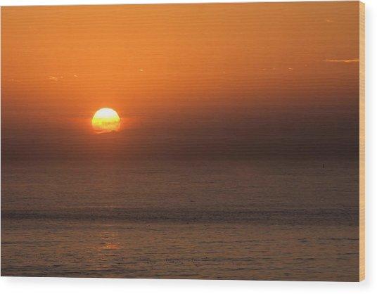 Good Morning California Wood Print
