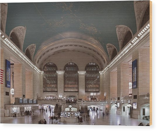 Grand Central Station The Main Wood Print by Everett