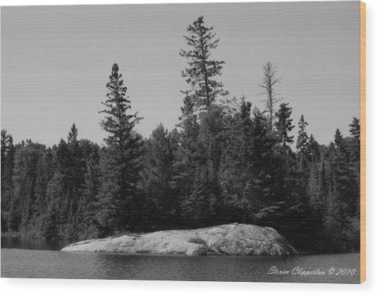 Grandpa's Point Wood Print