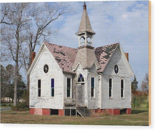 Great Old Church Wood Print