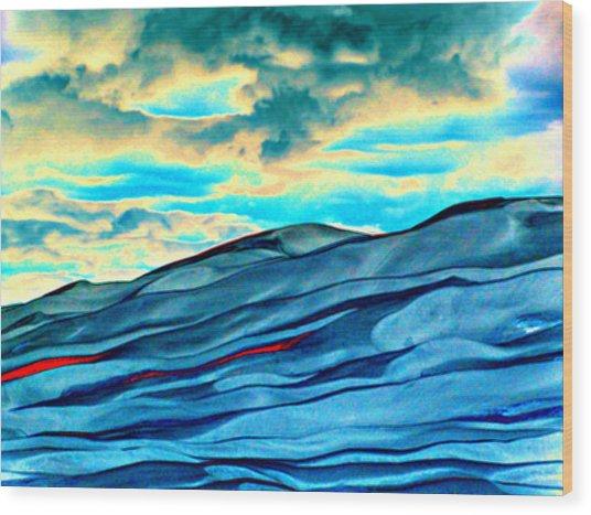 Great Sand Dunes Wood Print by Daniel Dodd