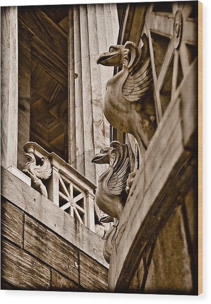 Athens, Greece - Griffen Watch Wood Print