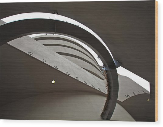Guggenheim Wood Print