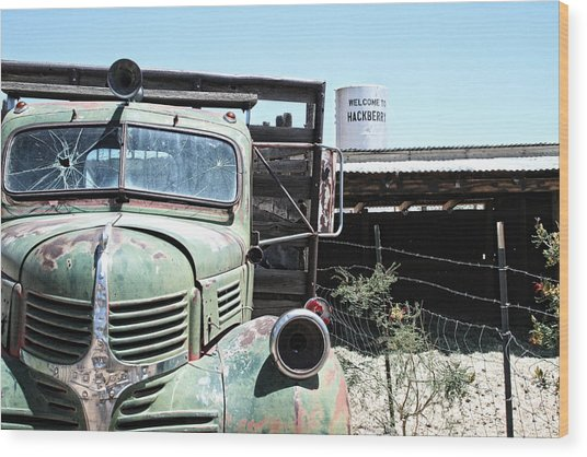 Hackberry Arizona Route 66 Wood Print