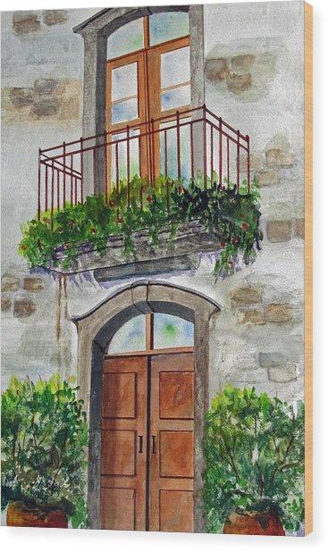 Hanging Garden Wood Print